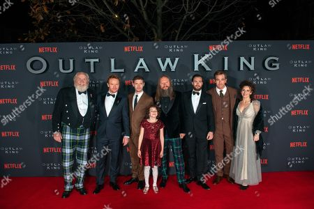 Stock Picture of James Cosmo, Tony Curran, Billy Howle, Josie O'Brien, David McKenzie, Aaron Taylor-Johnson, Chris Pine