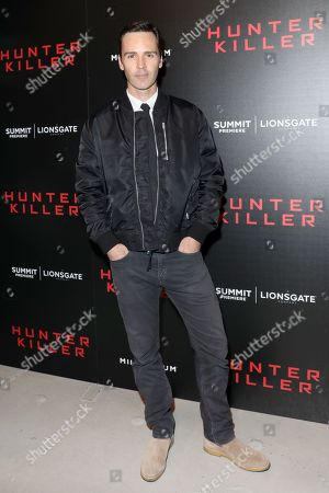 Editorial image of 'Hunter Killer' film premiere, Arrivals, New York, USA - 22 Oct 2018