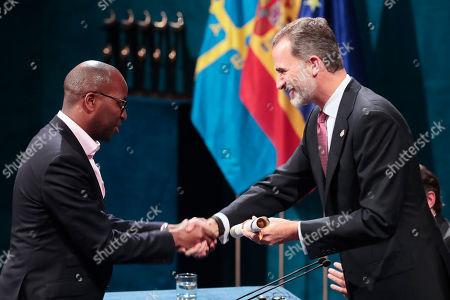 King Felipe VI, Amref Health Africa Princess of Asturias Award for International Cooperation 2018 Amref Health Africa is a non-profit organization founded in Kenya in 1957 by doctors Michael Wood (United Kingdom), Tom Rees (USA) and Archibald McIndoe (New Zealand)