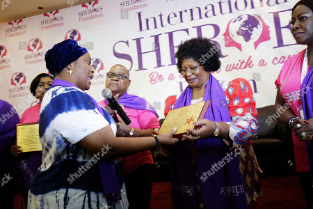 Editorial photo of International Sheroes Forum conference in Monrovia, Liberia - 19 Oct 2018