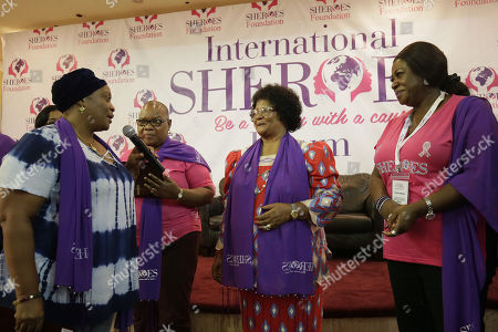 Editorial image of International Sheroes Forum conference in Monrovia, Liberia - 19 Oct 2018