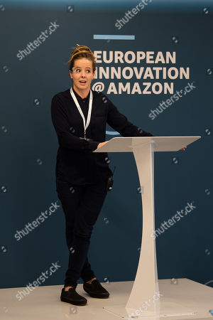 Editorial picture of Amazon Europe Innovation Day, London, UK - 18 Oct 2018