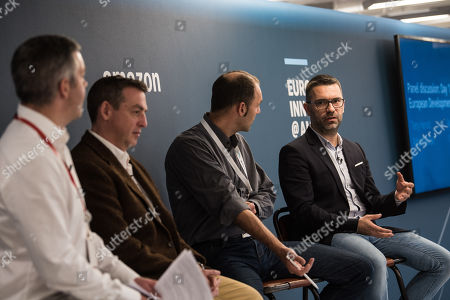 Editorial image of Amazon Europe Innovation Day, London, UK - 18 Oct 2018
