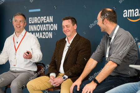 Editorial photo of Amazon Europe Innovation Day, London, UK - 18 Oct 2018