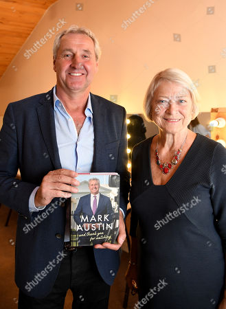 Mark Austin and Kate Adie