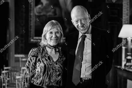 Hannah Rothschild and Lord Jacob Rothschild.