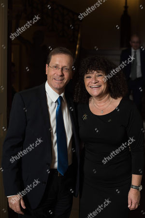 Yitzhak Herzog and Jacalyn Sank-Da Costa.