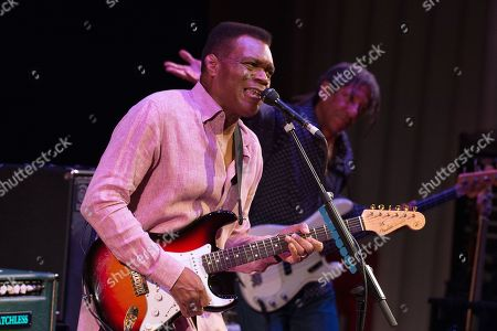 Editorial photo of The Robert Cray Band in concert at The City Halls, Glasgow, Scotland, UK - 19 Oct 2018