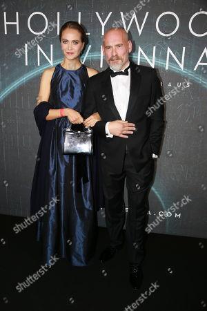 Stock Picture of Johannes Krisch mit Frau