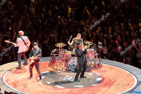 Bono, Adam Clayton, The Edge, Larry Mullen Jr.