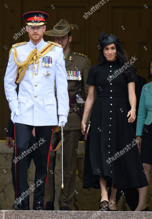 Prince Harry and Meghan Duchess of Sussex tour of Australia, Day 5
