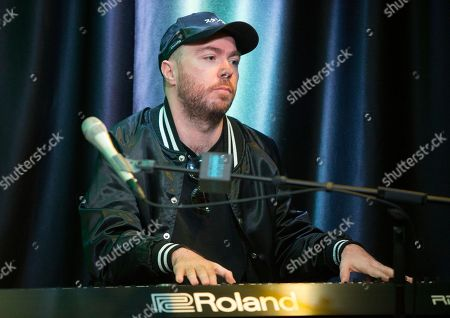 Martin Doherty of the band Chvrches visits the Radio 104.5 Performance Theater, in Philadelphia