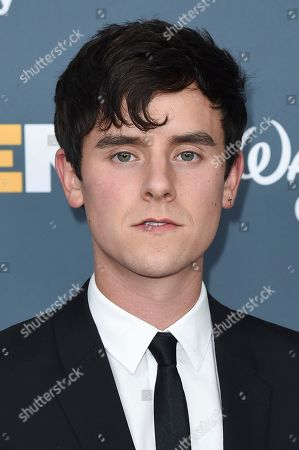 Connor Franta attends the 2018 GLSEN Respect Awards at the Beverly Wilshire Hotel, in Beverly Hills,Calif