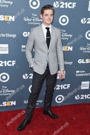 Stock Picture of Robbie Rogers attends the 2018 GLSEN Respect Awards at the Beverly Wilshire Hotel, in Beverly Hills,Calif