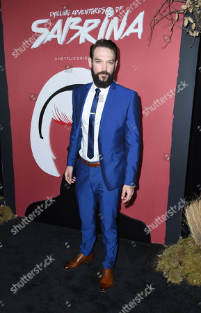 Editorial picture of 'Chilling Adventures of Sabrina' TV show premiere, Los Angeles, USA - 19 Oct 2018