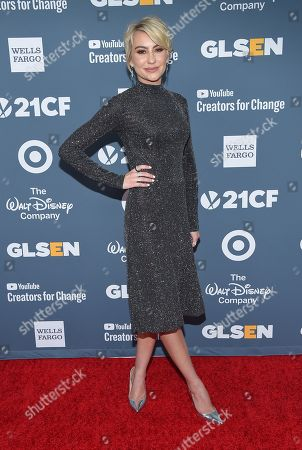 Editorial photo of GLSEN Respect Awards, Arrivals, Los Angeles, USA - 19 Oct 2018