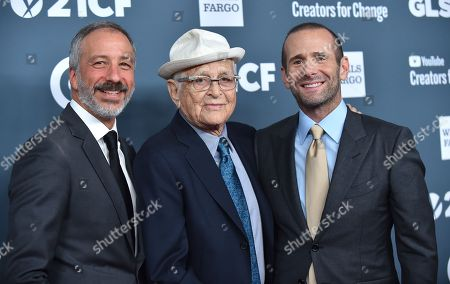 Stock Picture of David Kohan Norman Lear and Max Mutchnick