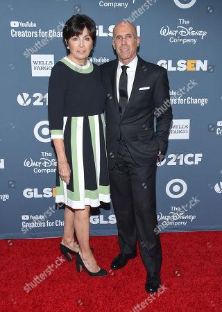 Jeffrey Katzenberg and Marilyn Katzenberg
