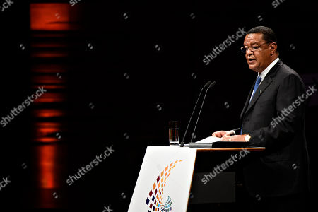 President of Ethiopia Mulatu Teshome speaks during day two of the P4G summit at the DR Koncerthuset in Copenhagen, 19 October 2018. P4G stands for Partnership for Green Growth and the Global Goals 2030 and is a global initiative which Denmark, along with South Korea, Ethiopia, Vietnam, Chile, Mexico and Kenya are involved in.