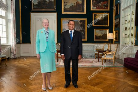 Denmark's Queen Margrethe (L) receives Ethiopian President Mulatu Teshome for an audiences in the Christian VII's mansion at Amalienborg Palace in Copenhagen, Denmark, 20 October 2018, on occasion of the P4G summit. P4G stands for Partnership for Green Growth and the Global Goals 2030 and is a global initiative which Denmark, along with South Korea, Ethiopia, Vietnam, Chile, Mexico and Kenya are involved in.