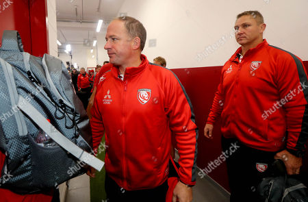 Munster vs Gloucester . Gloucester Director of Rugby David Humphreys