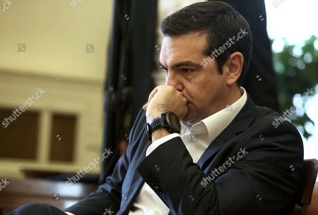 Editorial photo of Greek Prime Minister Alexis Tsipras takes over the Foreign Ministry after the resigning of former FM Nikos Kotzias, Athens, Greece - 20 Oct 2018