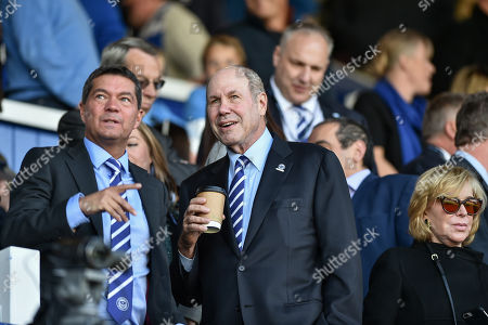 Portsmouth Chairman, Michael Eisner during the EFL Sky Bet League 1 match between Portsmouth and Fleetwood Town at Fratton Park, Portsmouth