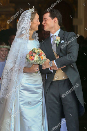 Duchess Sophie of Wurtemberg and Count Maximilien of Andigne wedding, Tegernsee