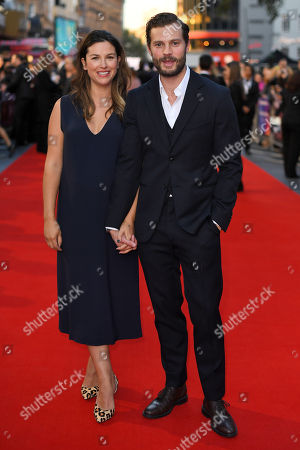 Stock Picture of Amelia Warner and Jamie Dornan