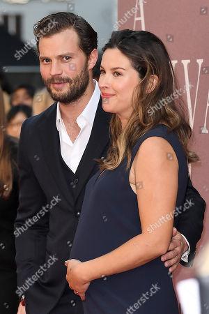 Stock Photo of Jamie Dornan and Amelia Warner