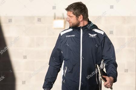 Scarlets A team coach Richard Kelly