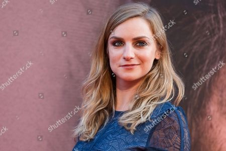 Stock Image of Faye Marsay arrives for the gala presentation of the movie 'A Private War' at the BFI London Film Festival 2018, in London, Britain, 20 October 2018. The festival runs from the 10 to 21 October.
