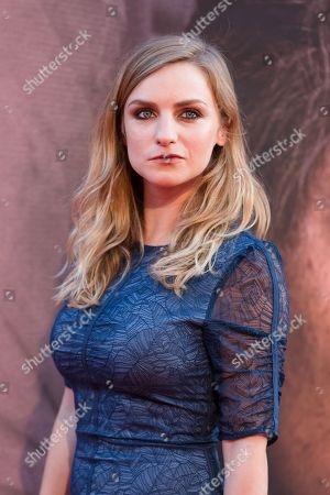 Faye Marsay arrives for the gala presentation of the movie 'A Private War' at the BFI London Film Festival 2018, in London, Britain, 20 October 2018. The festival runs from the 10 to 21 October.