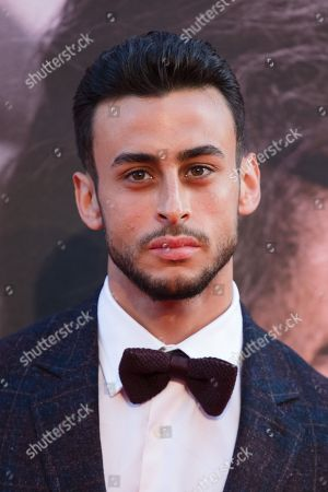 Fady Elsayed arrives for the gala presentation of the movie 'A Private War' at the BFI London Film Festival 2018, in London, Britain, 20 October 2018. The festival runs from the 10 to 21 October.