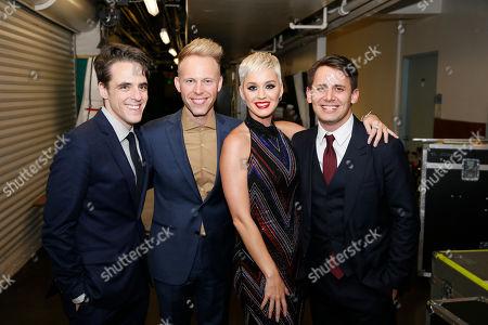 Steven Levenson, Justin Paul, Katy Perry and Benj Pasek