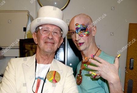Michael Davies and Andrew Logan