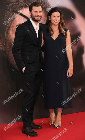 Stock Image of Jamie Dornan and Amelia Warner