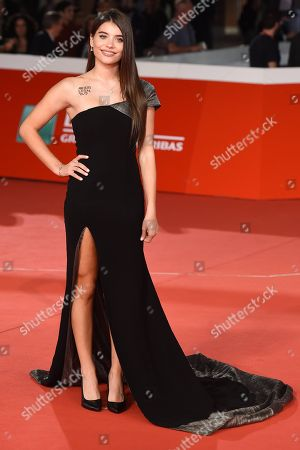 Editorial picture of 'Sangre blanca' premiere, Rome Film Festival, Italy - 19 Oct 2018