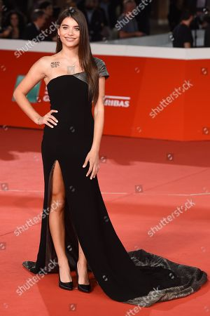 Editorial photo of 'Sangre blanca' premiere, Rome Film Festival, Italy - 19 Oct 2018