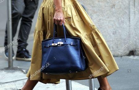 Stock Photo of Rula Jebreal, bag detail
