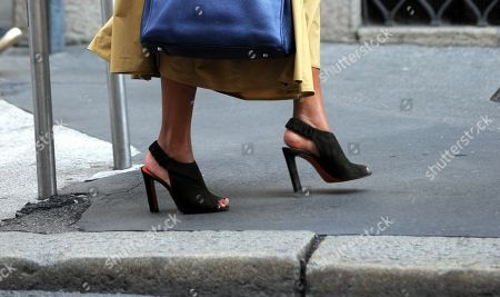 Rula Jebreal, shoe detail