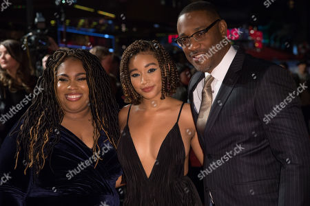 Angie Thomas, Amandla Stenberg and George Tillman Jr