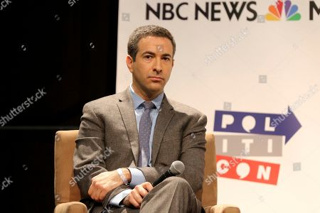 "Ari Melber participates in the ""Making Sense of the Midterms"" panel at Politicon at the Los Angeles Convention Center, in Los Angeles"