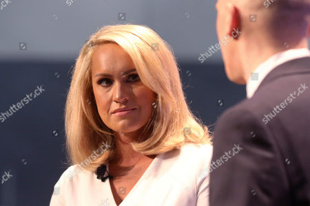 "Stock Photo of Scottie Nell Hughes participates in the ""Russia Hysteria in Context: Lies, Spies and Videotape"" panel at Politicon at the Los Angeles Convention Center, in Los Angeles"