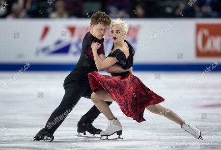 Editorial picture of 2018 Skate America, Everett, USA - 20 Oct 2018