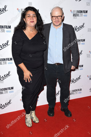 Sudabeh Mortezai and Lenny Abrahamson