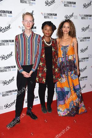 Charlie Lyne, Rungano Nyoni and Gloria Huwiler