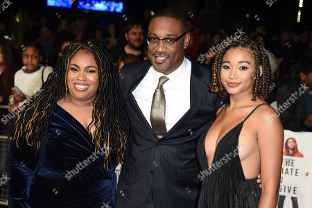 Angie Thomas, George Tillman Jr. and Amandla Stenberg