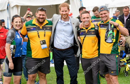 Prince Harry and Meghan Duchess of Sussex tour of Australia, Day 6