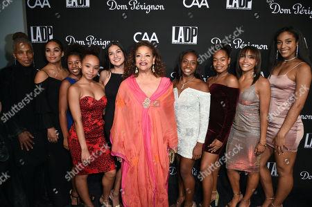Debbie Allen and dancers